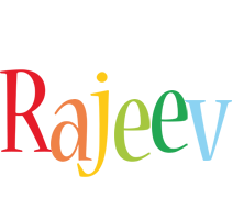 Rajeev birthday logo