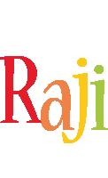 Raji birthday logo