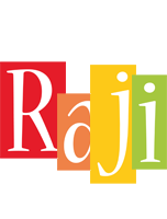 Raji colors logo