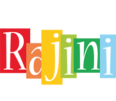 Rajini colors logo