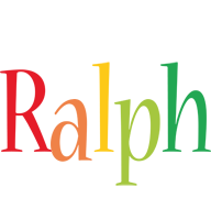 Ralph birthday logo