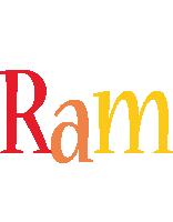 Ram birthday logo