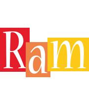 Ram colors logo
