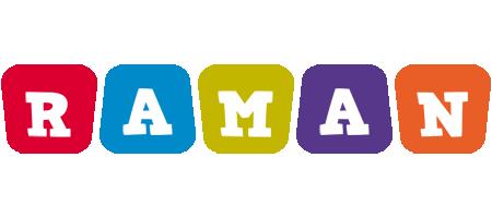 Raman kiddo logo