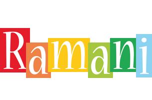 Ramani colors logo