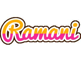 Ramani smoothie logo