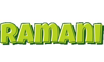 Ramani summer logo