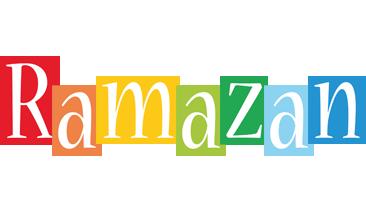 Ramazan colors logo