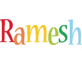 Ramesh birthday logo