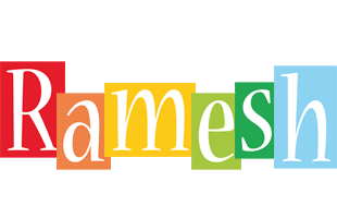 Ramesh colors logo