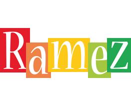 Ramez colors logo