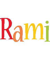 Rami birthday logo