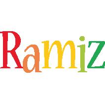 Ramiz birthday logo