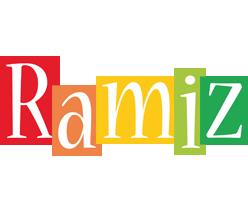 Ramiz colors logo