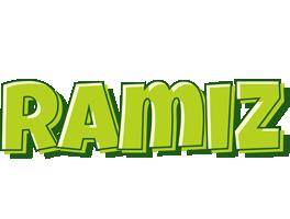 Ramiz summer logo