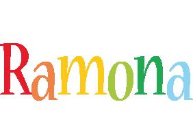 Ramona birthday logo