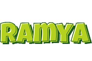 Ramya summer logo