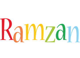 Ramzan birthday logo