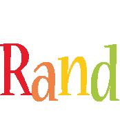 Rand birthday logo
