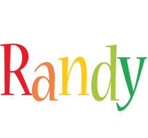 Randy birthday logo