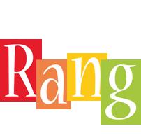 Rang colors logo