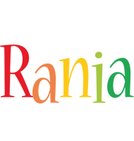 Rania birthday logo
