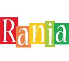 Rania colors logo