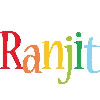 Ranjit birthday logo