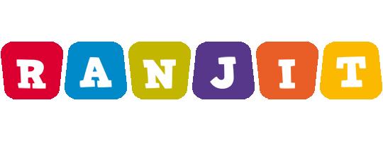Ranjit kiddo logo