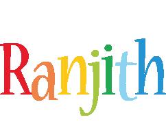 Ranjith birthday logo
