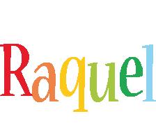 Raquel birthday logo