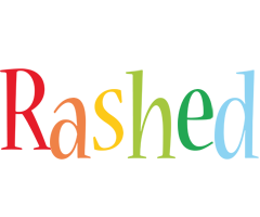Rashed birthday logo