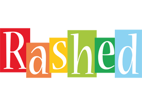 Rashed colors logo