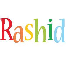 Rashid birthday logo