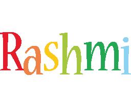 Rashmi birthday logo
