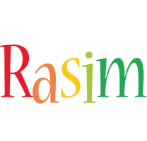 Rasim birthday logo