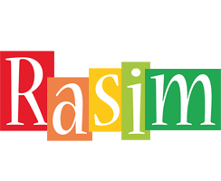 Rasim colors logo