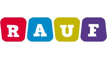 Rauf kiddo logo