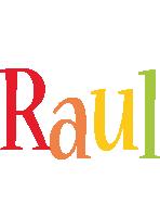 Raul birthday logo