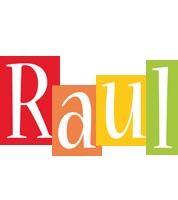 Raul colors logo
