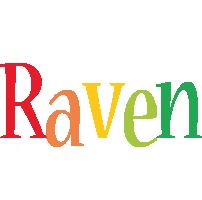 Raven birthday logo