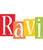 Ravi colors logo