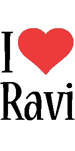 Ravi i-love logo