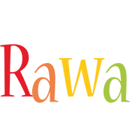 Rawa birthday logo