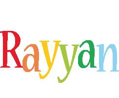 Rayyan birthday logo