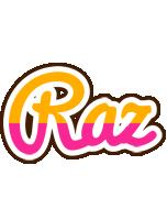 Raz smoothie logo