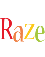 Raze birthday logo