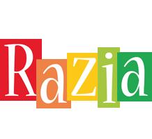 Razia colors logo