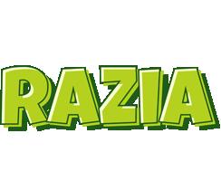 Razia summer logo