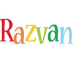 Razvan birthday logo